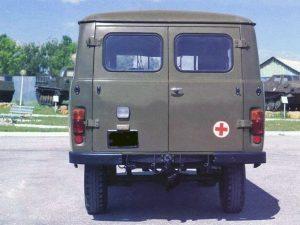 Вид сзади УАЗ-452