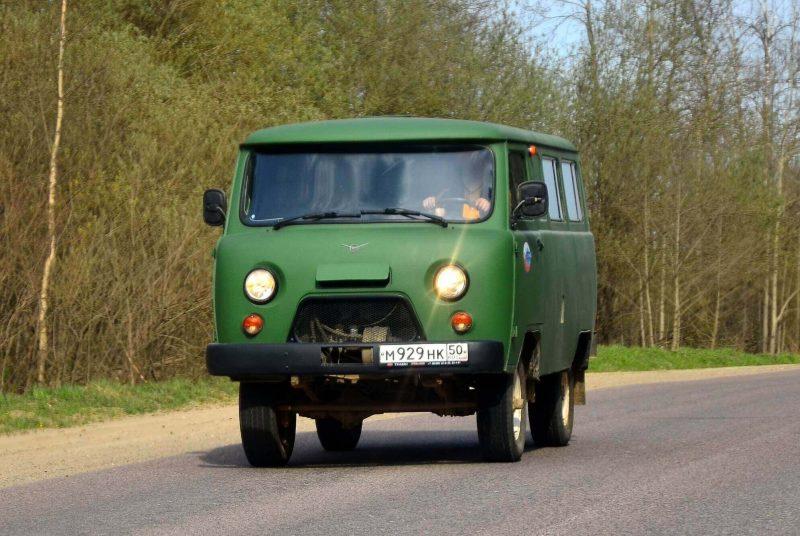 Вид спереди УАЗ-452