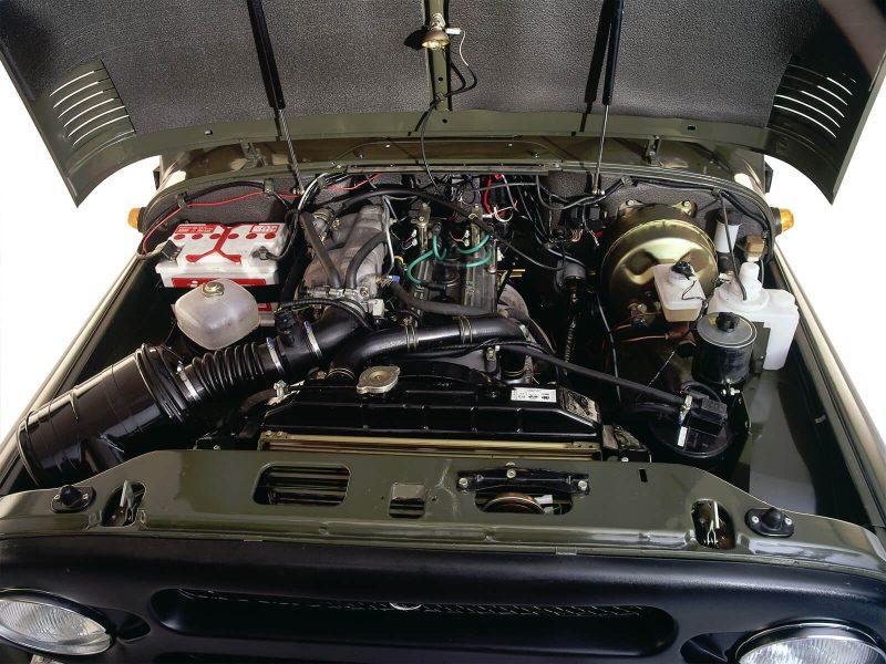 УАЗ Хантер двигатель