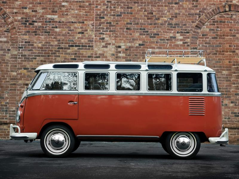 Вид сбоку Volkswagen Transporter Т1