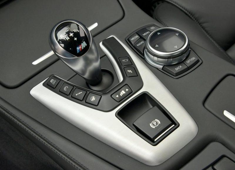 BMW M5 коробка передач