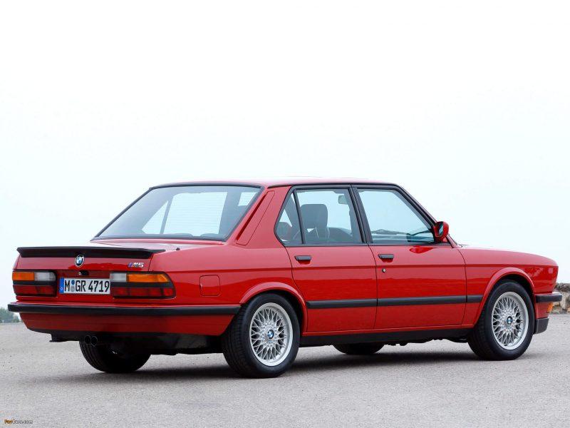 Фото BMW M5 Е28