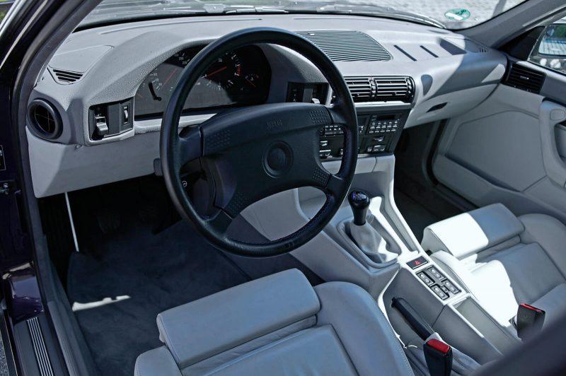 Салон BMW М5 Е34