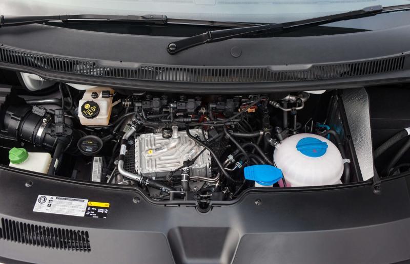 Двигатель VW Transporter T6