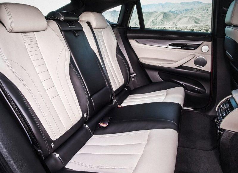 Задние кресла BMW X6