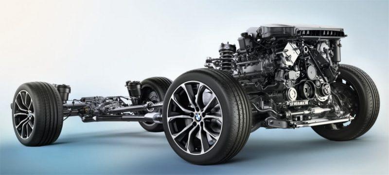 BMW X6 подвеска