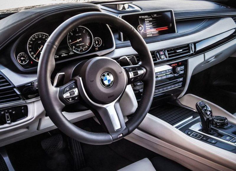 Руль BMW X6