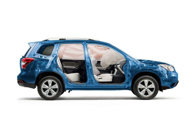 безопасность Subaru Forester 2