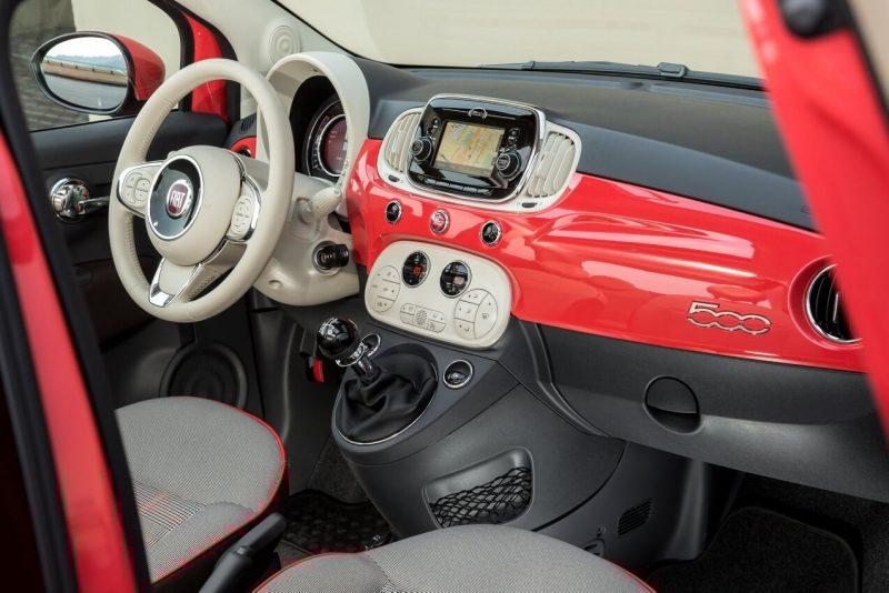 Fiat 500 интерьер