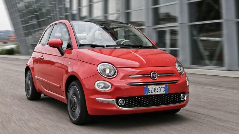 Автомобиль Fiat 500 C