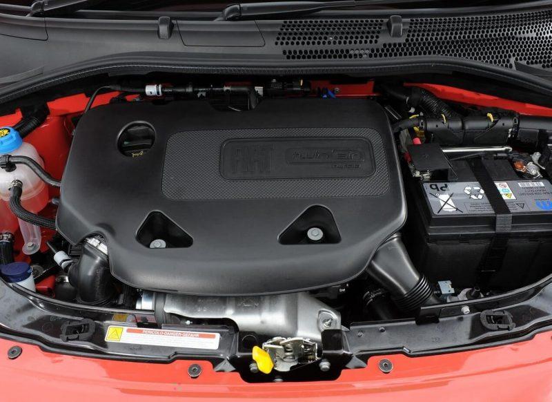 Fiat 500 двигатель