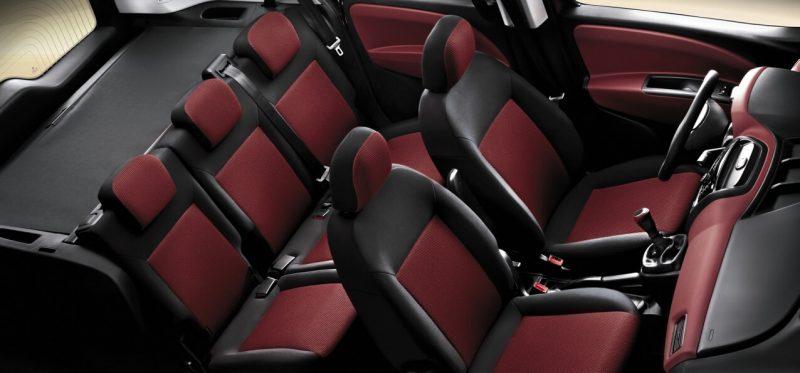 Fiat Doblo 2 задние кресла