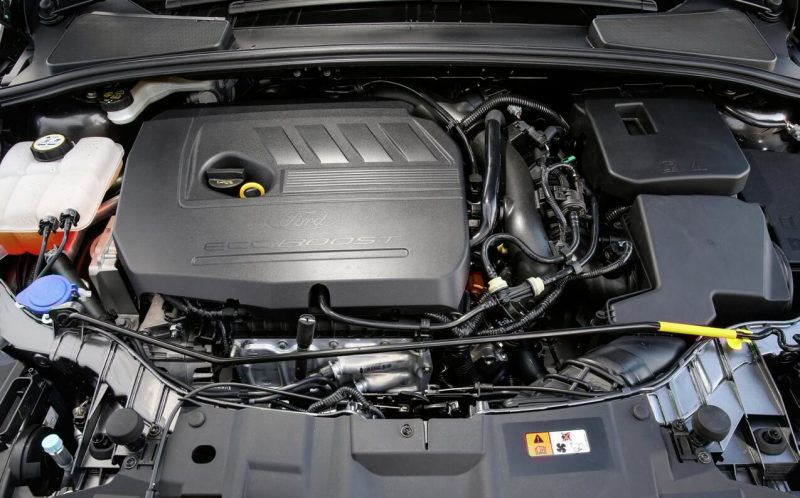 Ford Focus двигатель