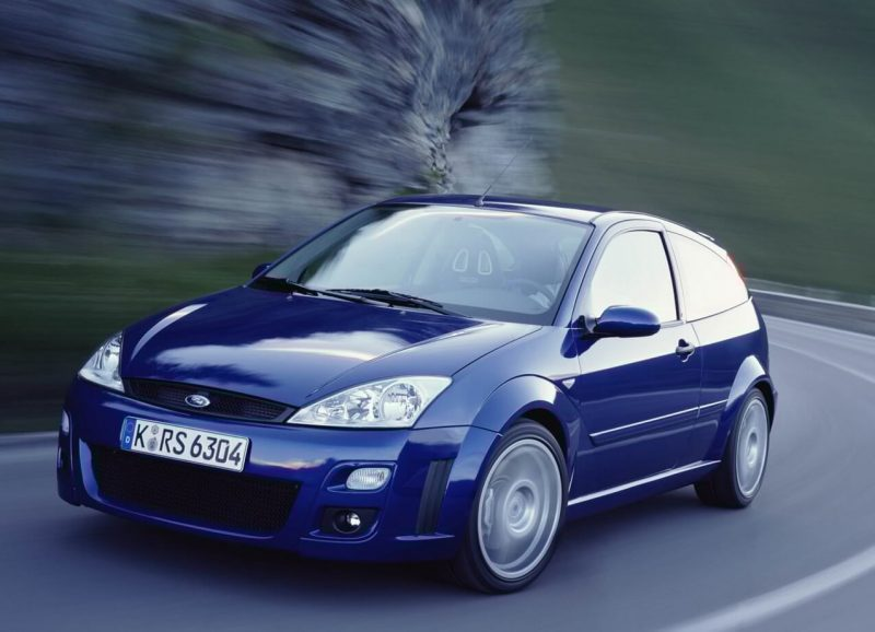 Авто Ford Focus RS 2002