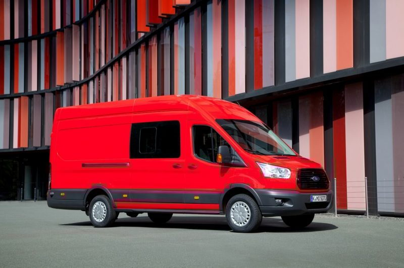 Фото Ford Transit Jumbo Double
