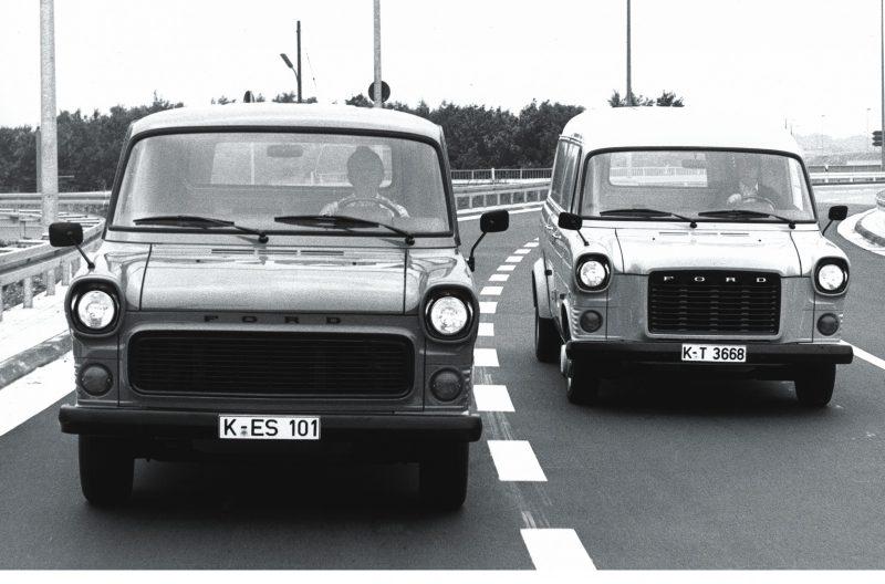 Первое поколение Ford Transit