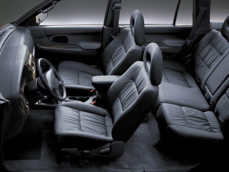 Салон Mitsubishi Pajero Sport 1-го поколения