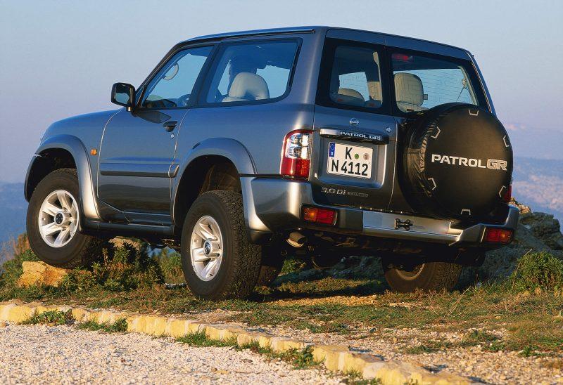 Nissan Patrol Y61 трехдверный