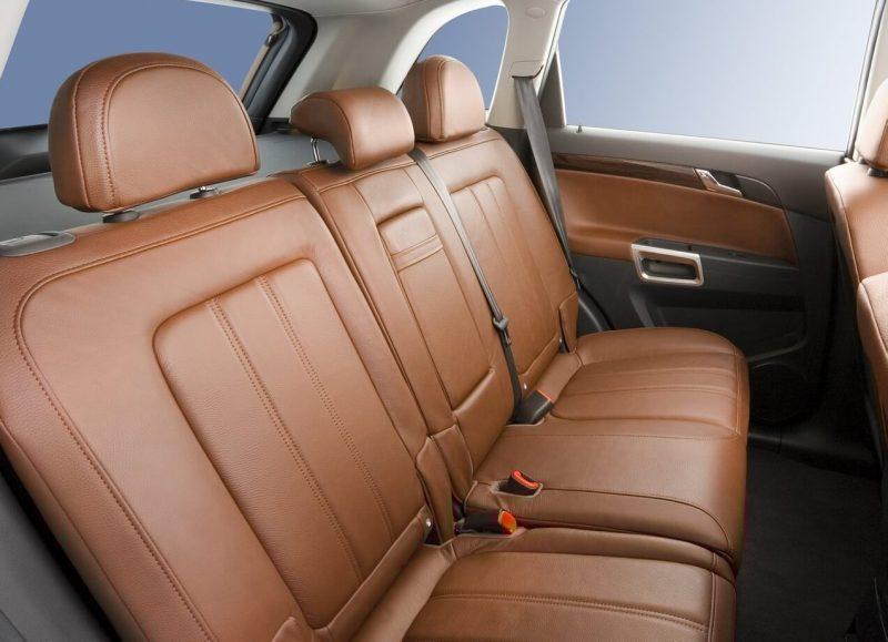 Задние кресла Opel Antara
