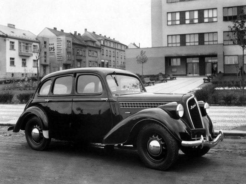 Фото Skoda Rapid 1935 года