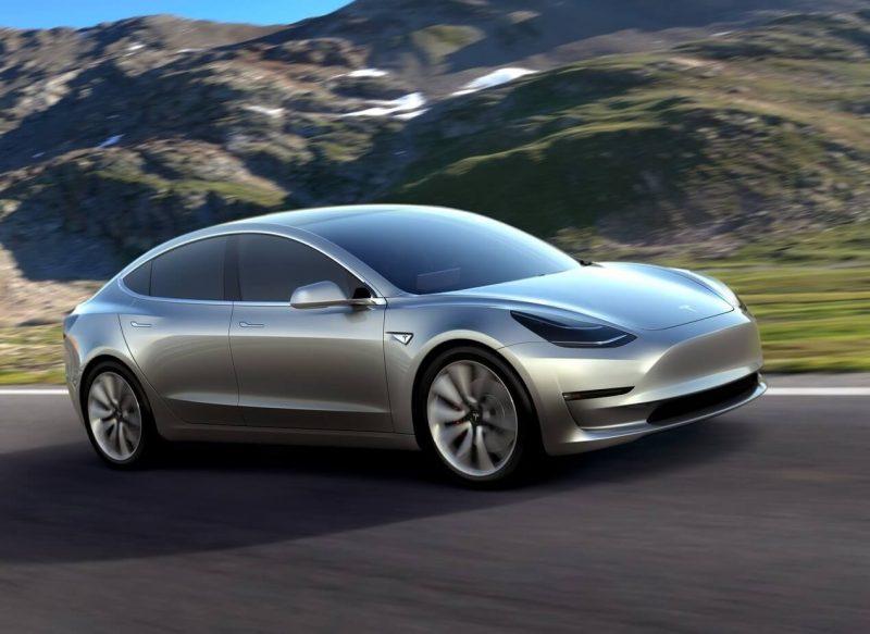 Фото атво Tesla Model 3