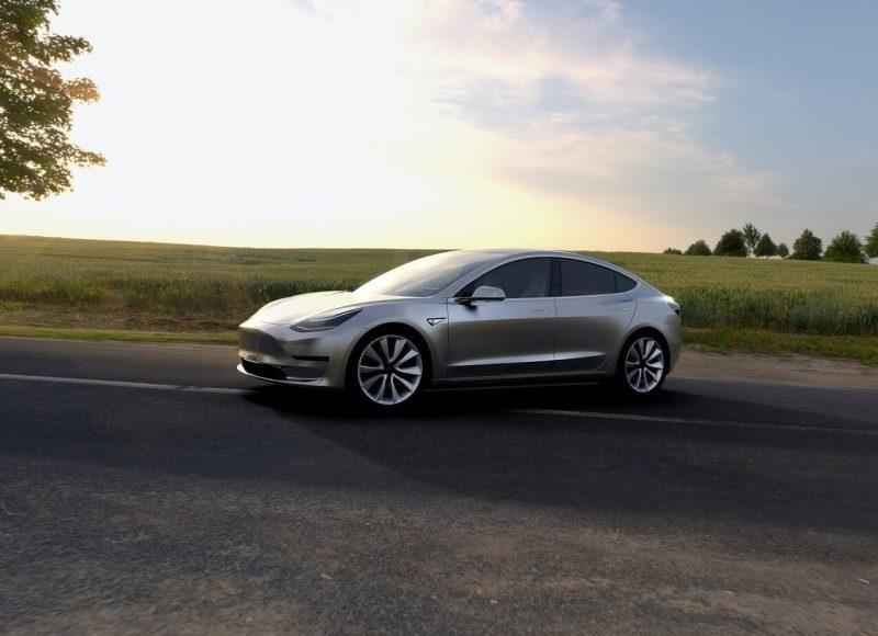 Фото Tesla Model 3