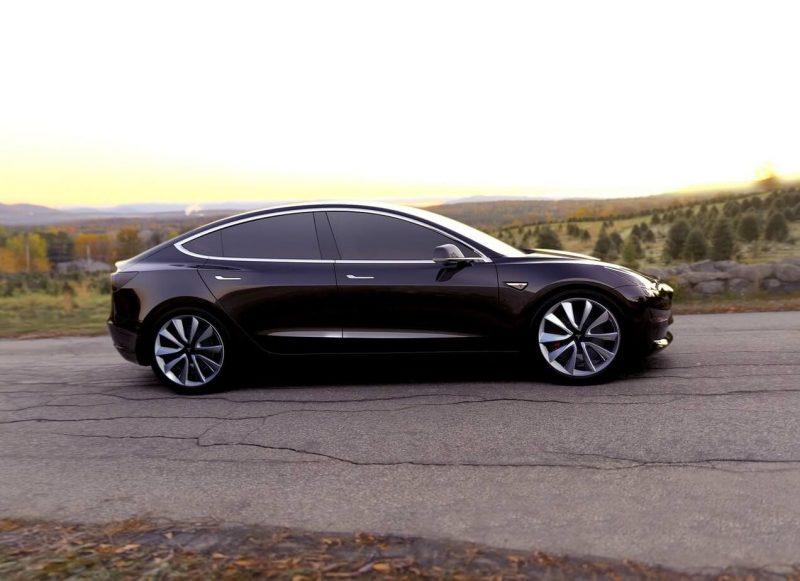 Tesla Model 3 фото авто