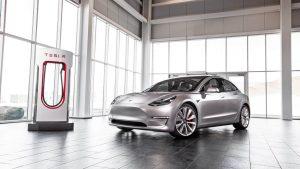Авто Тесла Модель 3