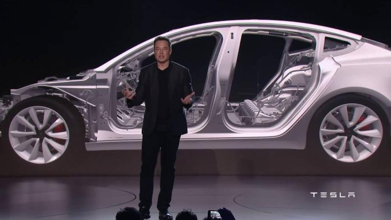Батарея Tesla Model 3