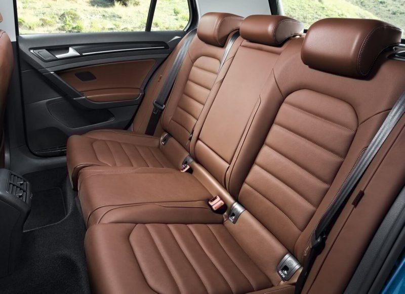 Задние кресла Volkswagen Golf 7