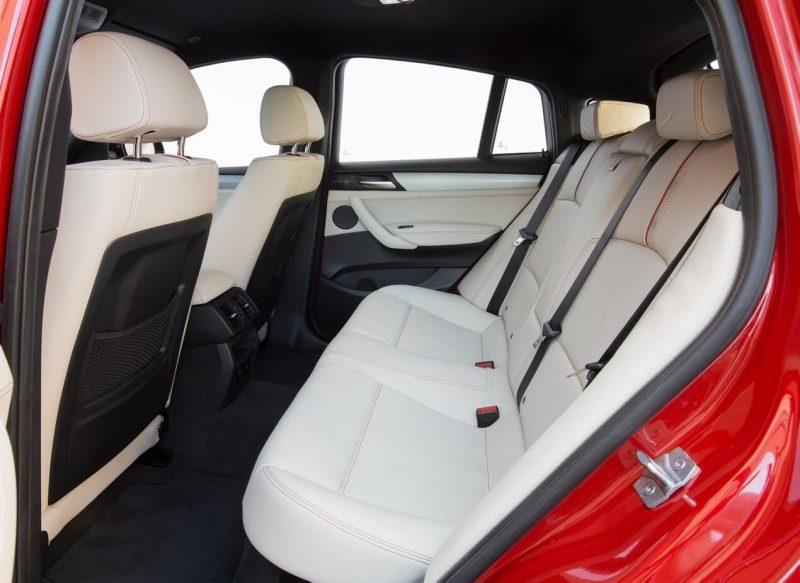 Задний диван BMW X4