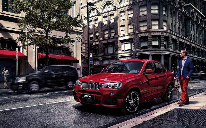 Фото кроссовера BMW X4