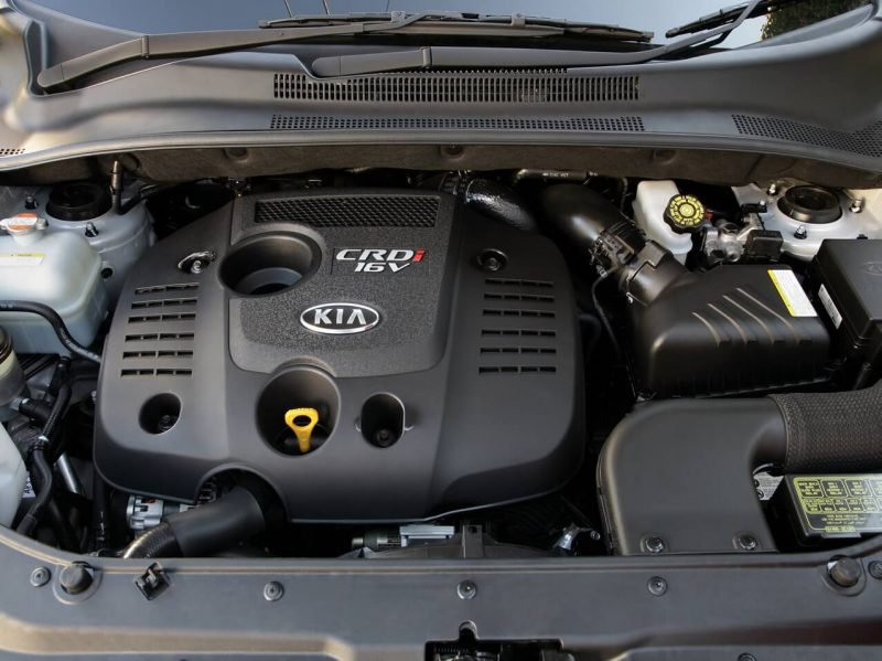 Двигатель KIA Sportage 2004 года