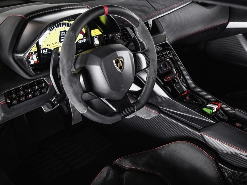 Руль Lamborghini Veneno