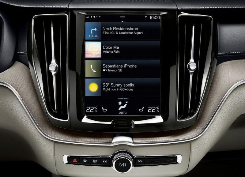 Сенсорный дисплей Volvo XC60