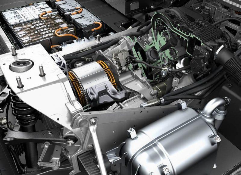 BMW i3 двигатель