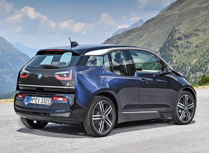 Новый хэтчбек BMW i3