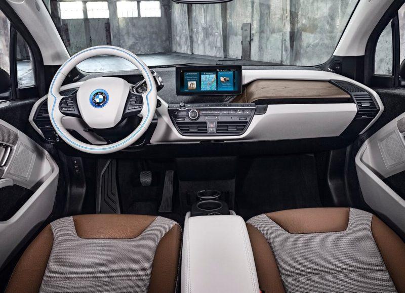 BMW i3 интерьер