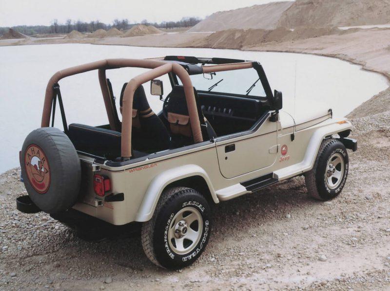 Авто Jeep Wrangler Sahara (YJ)