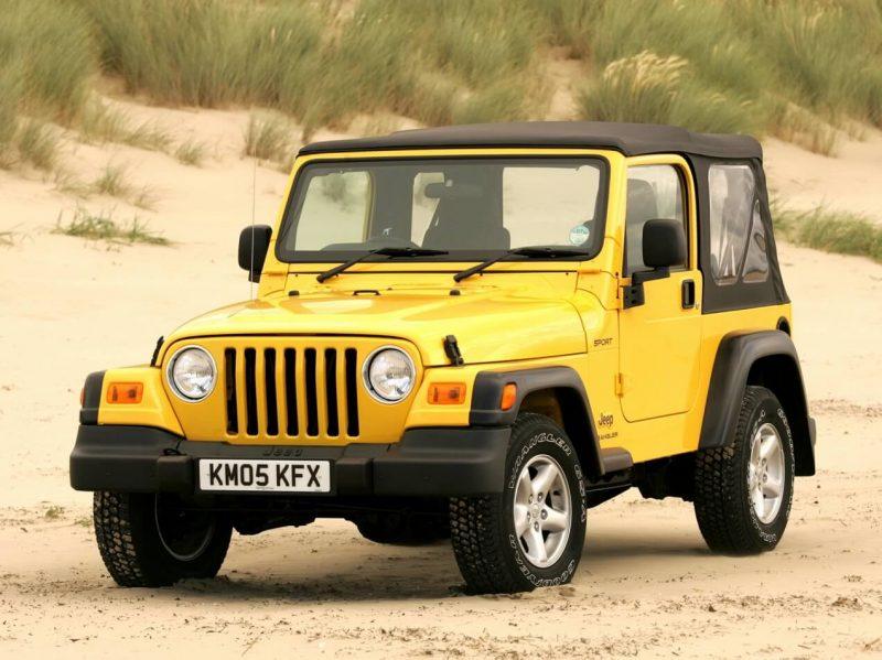 Авто Jeep Wrangler (TJ)