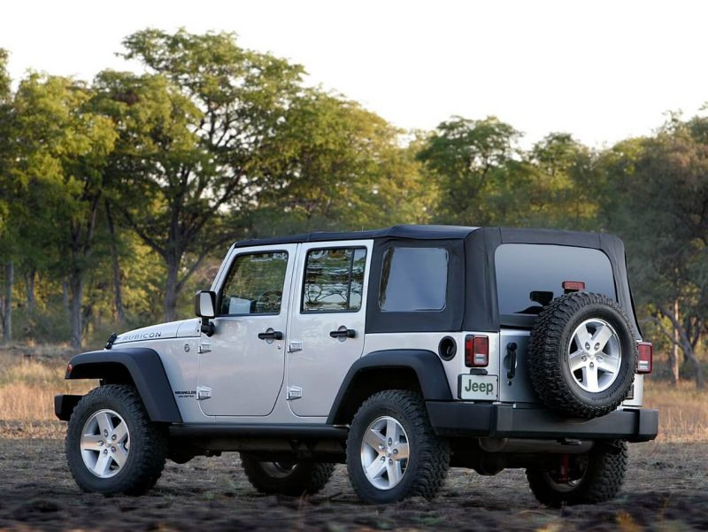 Фото авто Jeep Wrangler Unlimited Rubicon (JK)