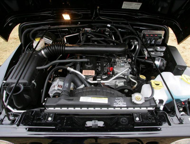 Jeep Wrangler двигатель
