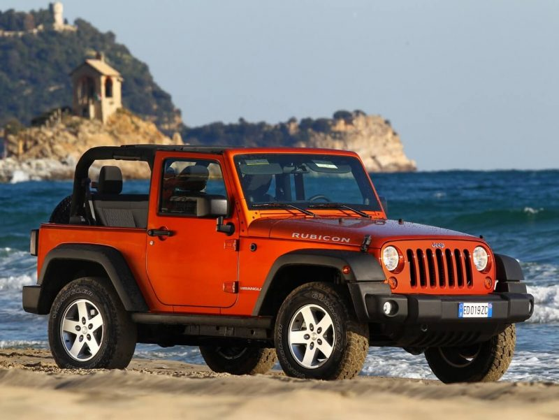 Фото Jeep Wrangler Rubicon