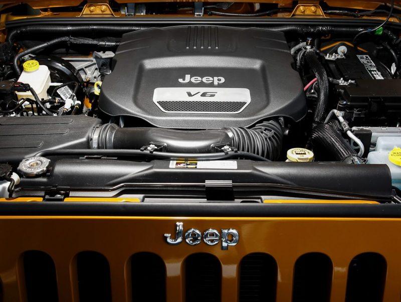 Jeep Wrangler III двигатель