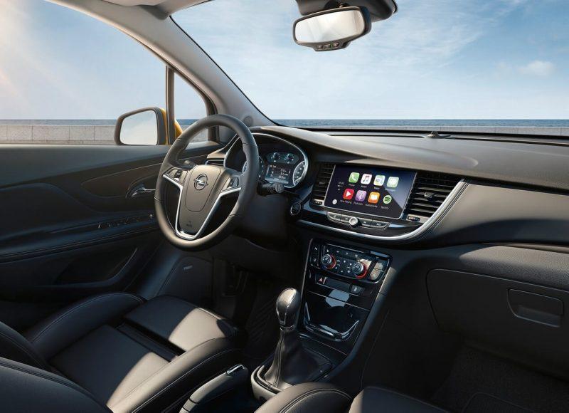 Салона новой Opel Mokka