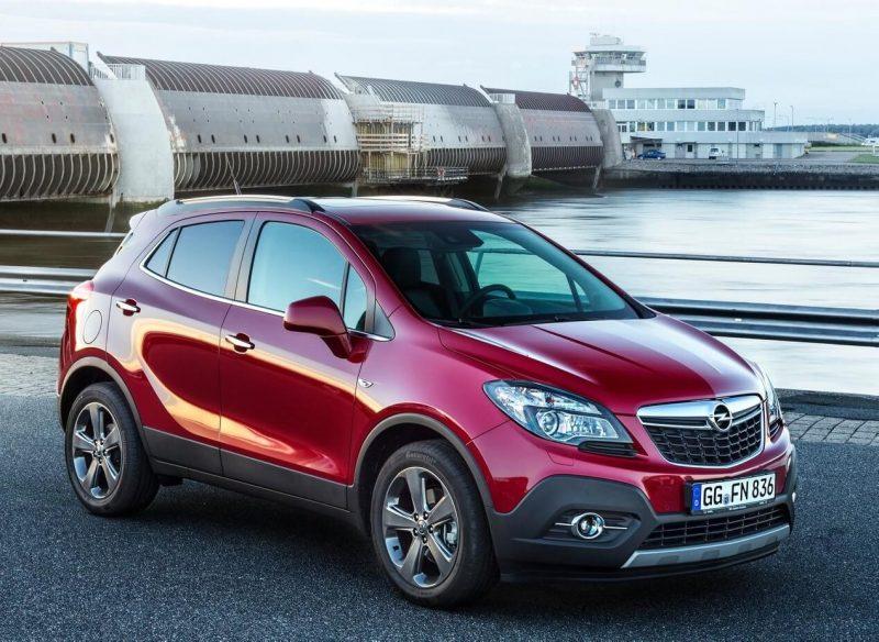 Фото кроссовера Opel Mokka