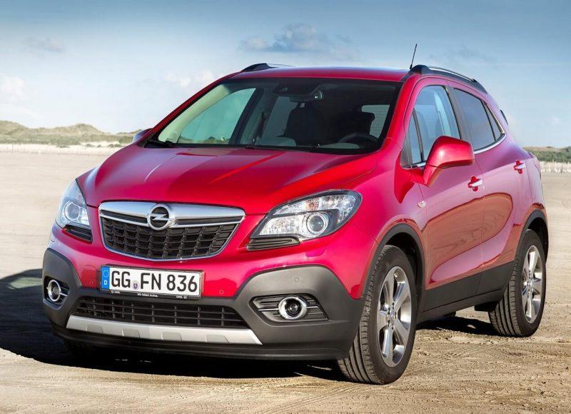 Вид спереди Opel Mokka