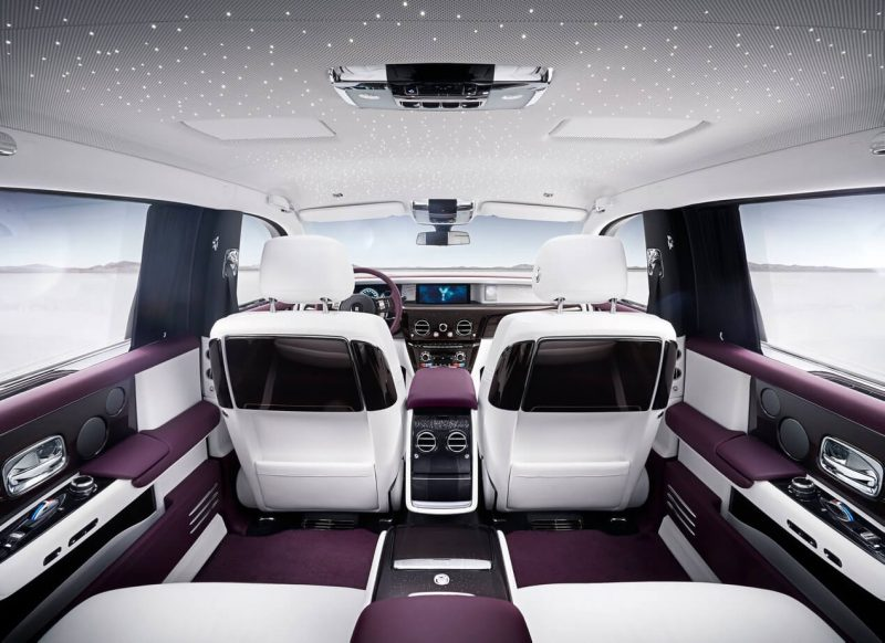 Фотография салона Rolls-Royce Phantom VIII