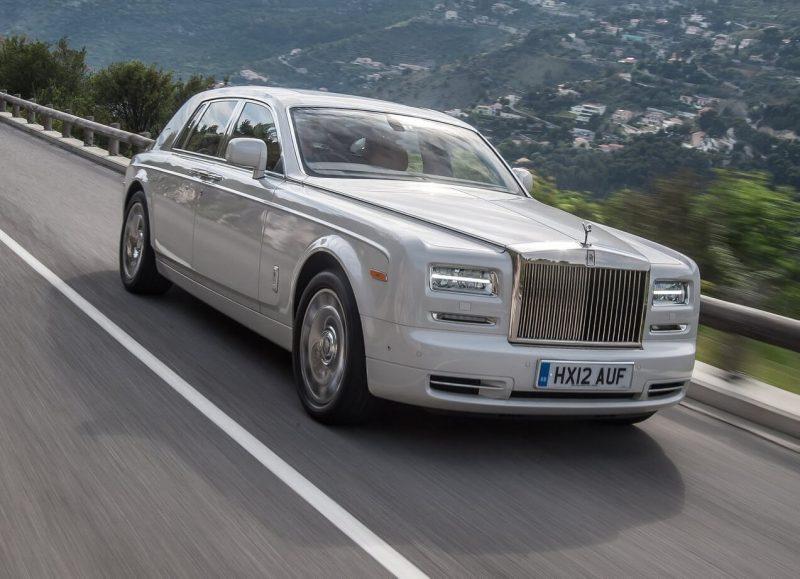 Rolls-Royce Phantom VII рестайлинг