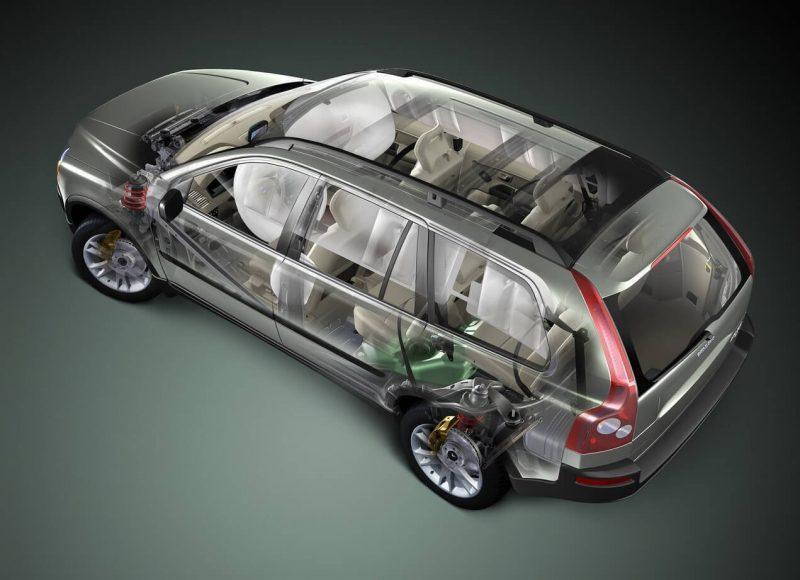 Volvo XC90 безопасность